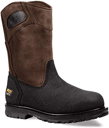 Timberland PRO Men's 53522 Powerwelt Wellington Boot,Rancher Brown,10.5 W
