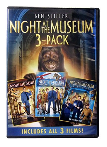 A Night At The Museum Triple Pack Feature (Night At the Museum/ Battle Of The Smithsonian / Secret Of The Tomb)