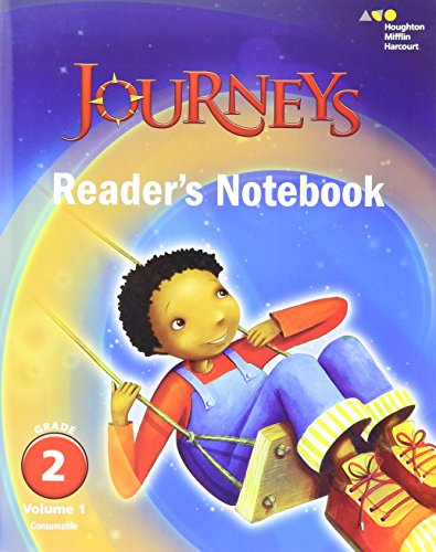 Journeys: Reader's Notebook Volume 1 Grade 2