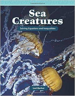 Book Sea Creatures (Mathematics Readers)