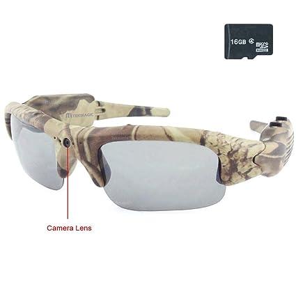 TEKMAGIC 16GB Camuflaje Gafas de Sol de Caza Eyewear de ...