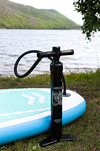 GRI High Pressure Hand Pump SUP Double Action 2-Way Max 26 PSI, for Inflatable Stand up Paddle Board Boat Kayak 2-Day Delivery