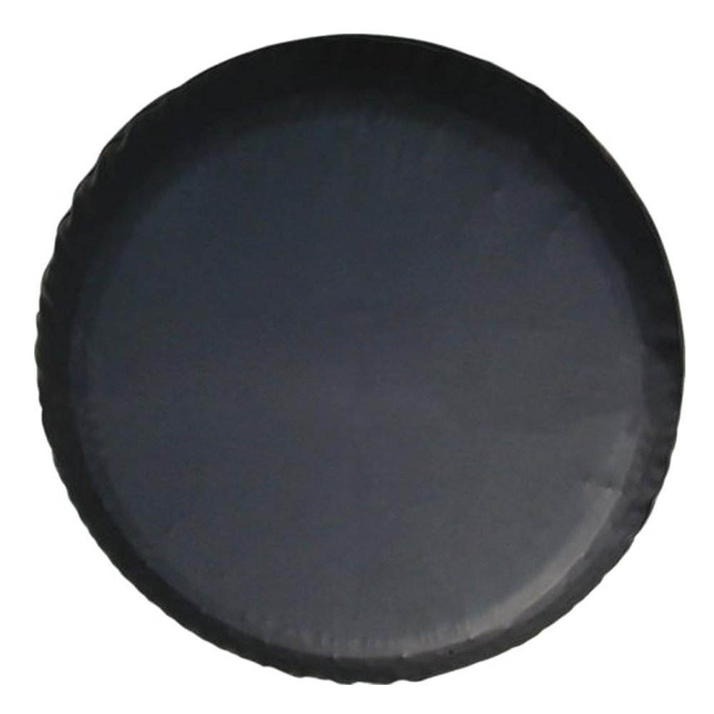 Crossovers Jeep Black 27-29 Diameter Fits Wide Range of Vehicles RV Trailer RAV 4 Favorite-Trade Spare Wheel Tire Cover PVC Leather 15 Inch UV Water Resistant