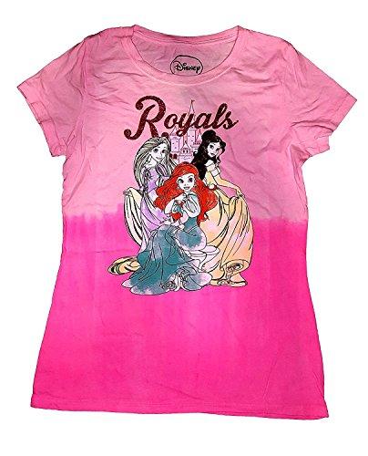 Price comparison product image Disney Princess Ariel, Belle, Rapunzel Royals Princess Youth Girls Fashion Top TShirt