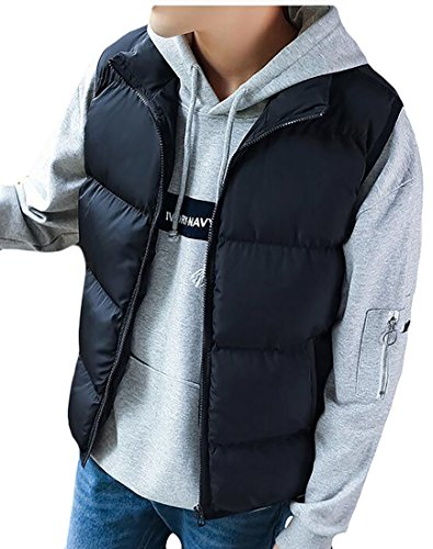 Warm Winter Lightweight Mens Black Stand Down UK Slim Puffer Collar today Vest 6ZnwxWX