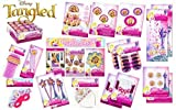 Disney Tangled 149 Piece Super Princess Party Pack - Decorations Plus Party Favors For 8 - Party In A Box