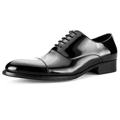 Zapatos de vestir para hombres, Dedo del pie liso Zapatos ...