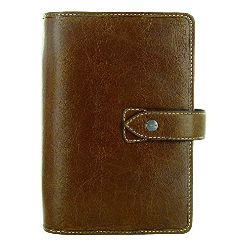 - Filofax Weekly Daily Planner Malden Ochre Personal Size Leather Organizer Agenda 2019 Calendar Ring Binder with DiLoro Jot Pad 025808