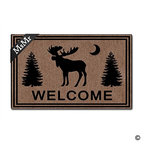 Moose Door Mat - 9