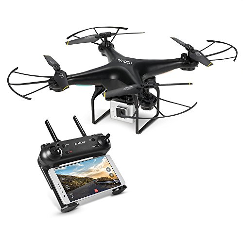 GoolRC Drones Quadcopters with 720P Camera T106 WIFI FPV Altitude Hold RTF RC Drones for Beginner by GoolRC