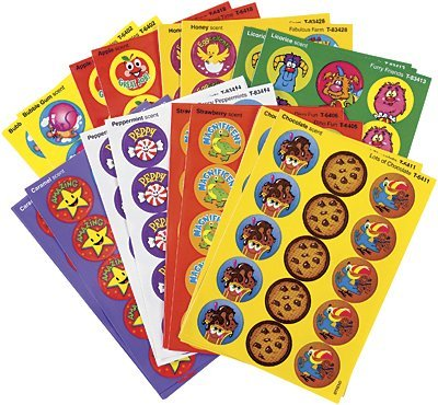 435 x Fun Favourites Smelly Stickers Variety Pack for Kids