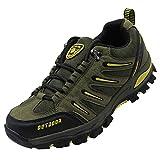 BomKinta Men's Hiking Shoes Anti-Slip Lightweight Breathable Quick-Dry Trekking Shoes for Men