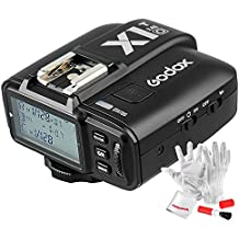 Godox X1T-O TTL Transmitter for Olympus Panasonic Cameras TTL 1/8000s HSS 2.4G Wireless Transmitter 32 Channels - With PERGEAR Cleaning Cloth