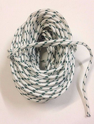 30' Bass (30' Ft Patio Umbrella Replacement Pulley Cord String Rope)