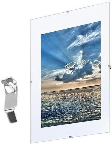 Mein Landhaus Marco,Randlos-Rahmen,Documentos Marco, Cristal Normal, sin Marco, sin Marco Soporte para Fotos - 50x70cm