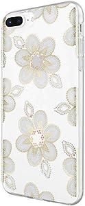 Incipio Apple iPhone 6 Plus/6S Plus/7 Plus/8 Plus Design Series Case - Beaded Floral