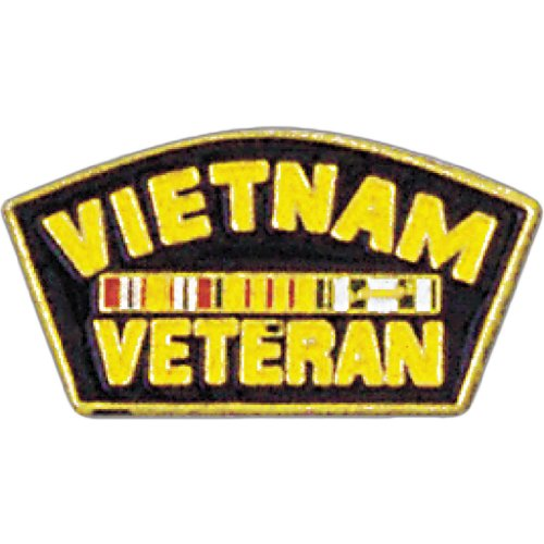 Vietnam Veteran Lapel Pin Military Collectibles, Patriotic Gifts for Veterans