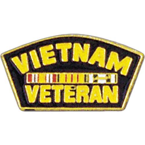 Vietnam Veteran Lapel Pin Military Collectibles, Patriotic Gifts for Veterans