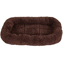 SNOOZZY BROWN 17.5X11.5 BOLSTER CRATE MAT