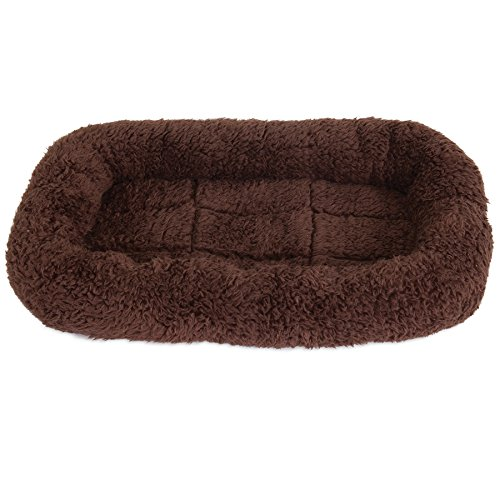 (SNOOZZY BROWN 17.5X11.5 BOLSTER CRATE MAT)