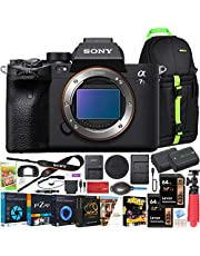 $3498 » Sony a7s III ILCE-7SM3/B Mirrorless Digital Camera with 35mm Full-Frame Sensor Body Bundle w/Deco Gear Backpack + Extra Battery + Dual Charger + 2X 64GB Memory Card (128GB Total) and Kit Accessories