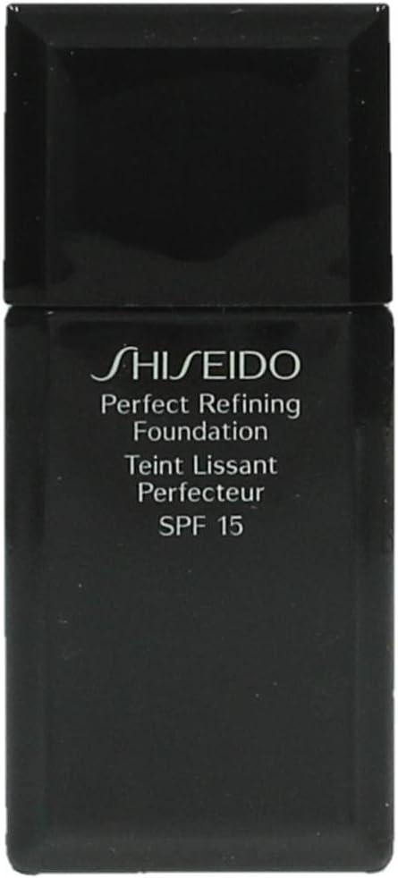 Shiseido - Perfect Refining Foundation Nº B00 Very Light Beige - Base de maquillaje SPF15