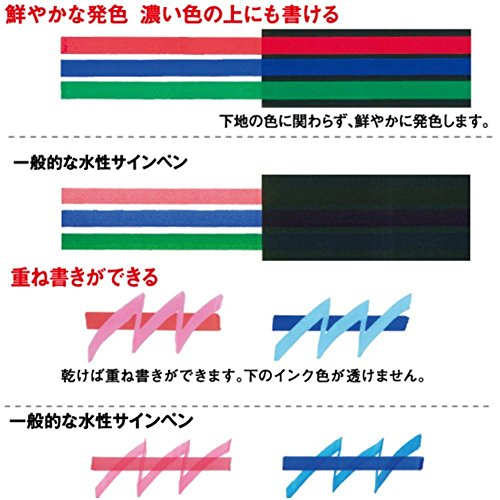 Uni Posca Paint Marker FULL RANGE Set , Mitsubishi ALL Natural & Dark , Gold & Silver Pen Medium Point 29 Color (PC-5M), Original Plastic Box by Uni Posca (Image #7)