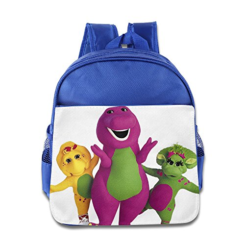 Barney And Friends Kids School Backpack RoyalBlue