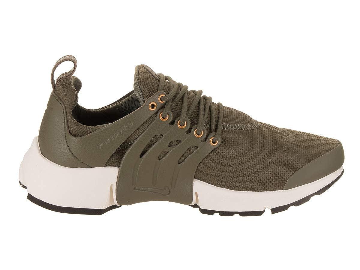 4a4be26e4c Amazon.com | NIKE Men's Air Presto Premium Medium Olive/Medium Olive Sail  Running Shoe 13 Men US | Road Running
