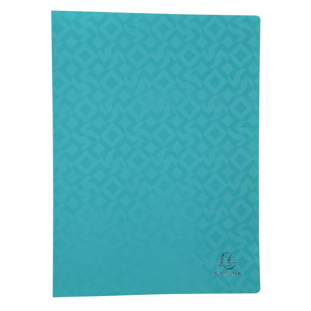 Exacompta 85520e offix porte-vues saldati di 100facciate in polipropilene semi rigida 5/10formato 24x 32cm colori casuali