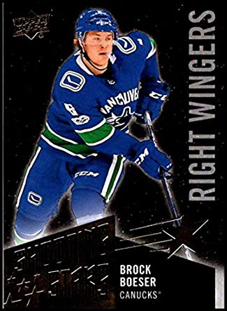 911a10e3b 2018-19 Upper Deck Shooting Stars Right Wingers Hockey Card  SSR-4 Brock