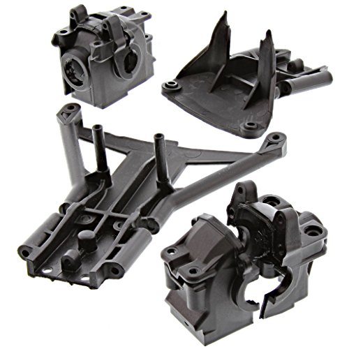 Traxxas 1/10 Slash 4x4 * FRONT & REAR DIFFERENTIAL CASES, BULKHEAD * Skid Plates 4x4 Front Differential