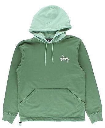 7c798d2e1f Stussy Two Tone Hooded Sweatshirt Green XLarge: Amazon.co.uk: Clothing