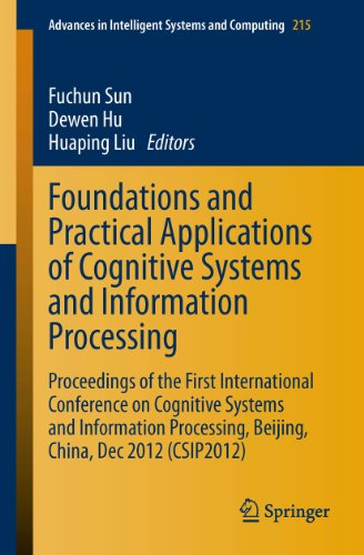 Download Foundations and Practical Applications of Cognitive Systems and Information Processing: Proceedings of the First International Conference on Cognitive … in Intelligent Systems and Computing) Pdf