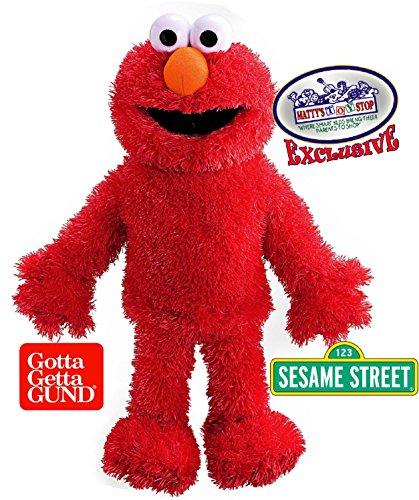 GUND Sesame Street Elmo Plush 15″ Full Body Hand Puppet