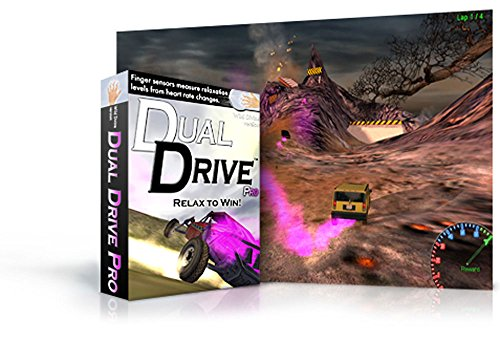 Price comparison product image Dual Drive Pro Active Feedback Game for Wild Divine IOM Finger Sensors