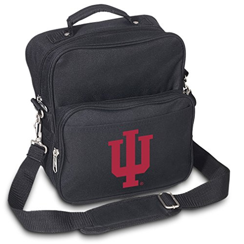 Indiana University Travel Bag or Small Crossbody Day Pack Shoulder Bag by Broad Bay