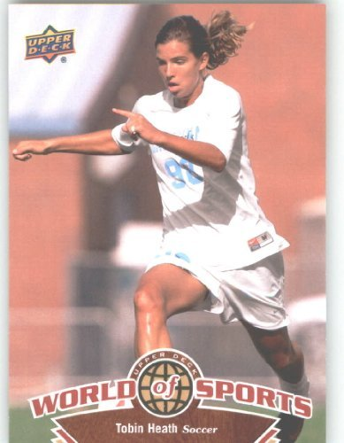 2010 Upper Deck World of Sports #117 Tobin Heath/Women's Soccer Cards/Tar Heels /