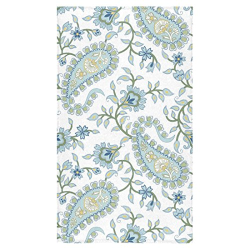 Custom Paisley Hand Towel Bath Bathroom Shower Towels 16