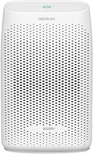 Cecotec BigDry Series 2000-750 ml//giorno 2 livelli di deumidificazione portata da 20 m2 a 25 m2 funzione di pulizia. 2 velocit/à serbatoio rimovibile da 0,6 a 2 litri