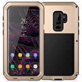 Best Cases With Aluminum Covers - Galaxy S9 Case,Tomplus Armor Tank Aluminum Metal Shockproof Review