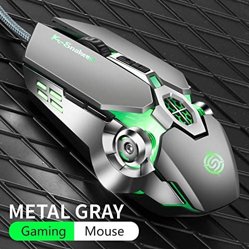 Mouse Pro Gamer Gaming Mouse 3200DPI Adjustable Wired Optical LED Computer Mice USB Cable Silent Mouse for Laptop PC Mousepad Tablet Mice Color : Pad