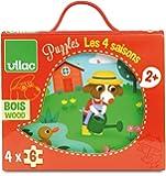 Vilac 2641 - Puzzles Les 4 Saisons - 24 Pièces