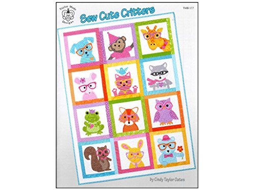 Taylor Made Sew Cute Critters Bk by Taylor Made Products
