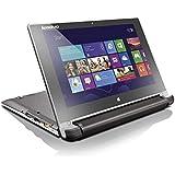 Lenovo Flex 10 59-439199 10.1-inch Touchscreen Laptop (Celeron N2807/2GB/500GB/Win 8.1/Integrated Graphics), Brown