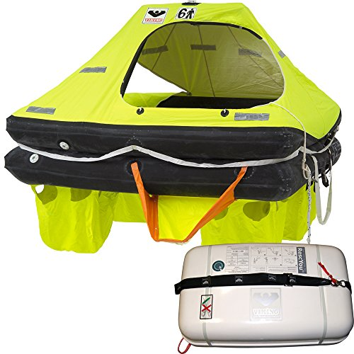 Viking Rescyou Coastal Liferaft 6 Person Container