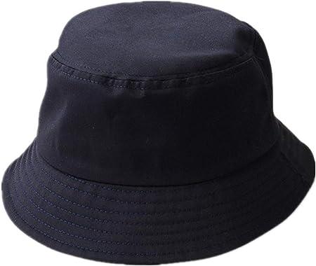 Comprar Sombrero de Pescador,Sombrero Pescador de Algodón Sombrero de Ala Ancha para Hombres Mujeres Libre Playa Acampar Viajar Senderismo Pesca Caza Golf 58 cm