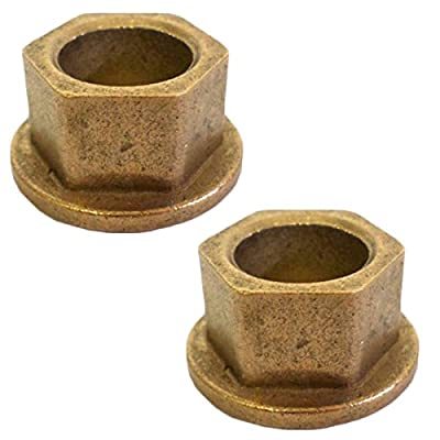MTD Cultivator Replacement Hex Flanged Bearings # 948-0229-2PK