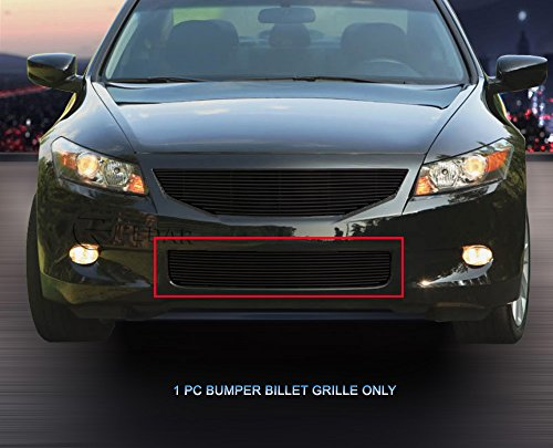 - Fedar Lower Bumper Billet Grille Insert for 2008-2010 Honda Accord Coupe