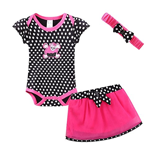 Mud Kingdom Thanksgiving Baby Girl Outfits 12-18 Months Clothes Sets Halloween Skull 18M Small Dot